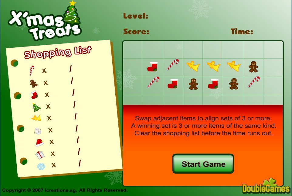 Free Download Xmas Treats Screenshot 1