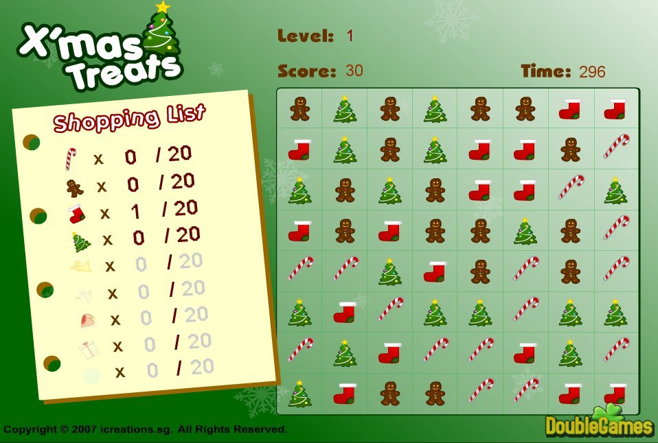 Free Download Xmas Treats Screenshot 2