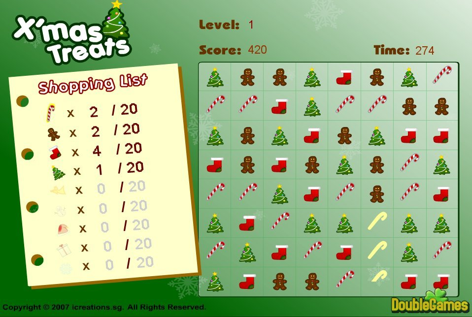 Free Download Xmas Treats Screenshot 3