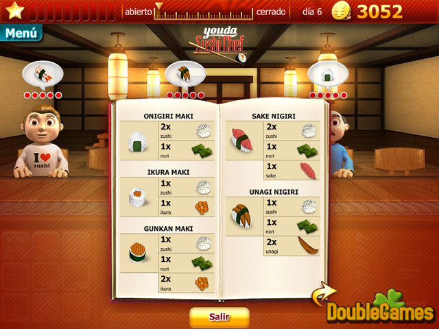 Free Download Youda Sushi Chef Screenshot 3