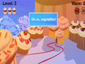 Screenshot descargo de Cupcakes VS Veggies 2