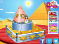Screenshot descargo de Egyptian Princess Wedding Cake 3